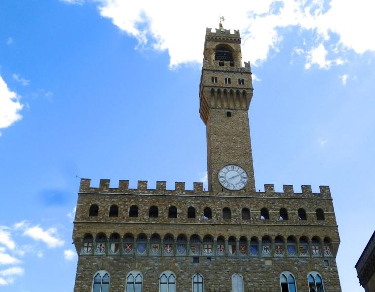 Clock, Palazzo della Signoria, Florence