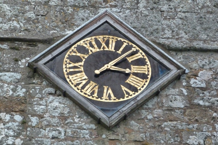 Godshill IoW Church Clock