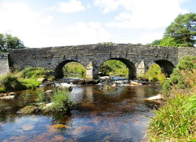 Dartmoor River & Bridge 1