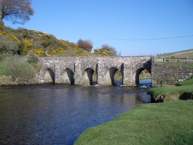 Lanacre Bridge, Withypool, Exmoor