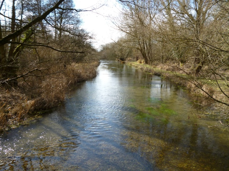 River Dever Hampshire
