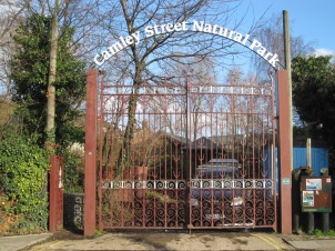 Camley Street Natural Park entrance
