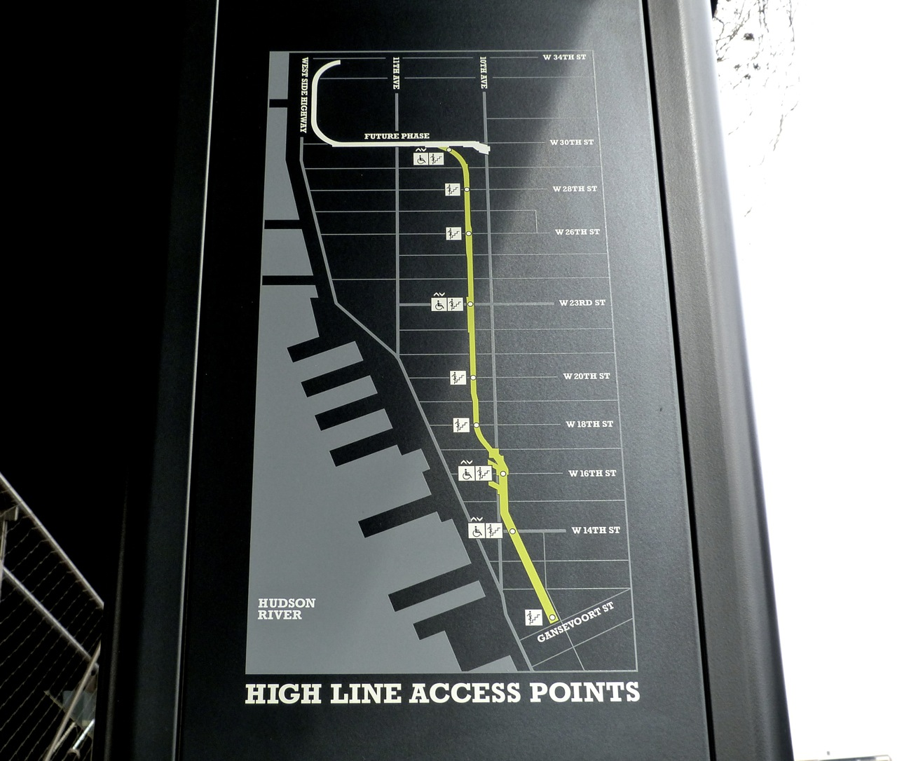 High Line Map Rolling Harbour Gallery