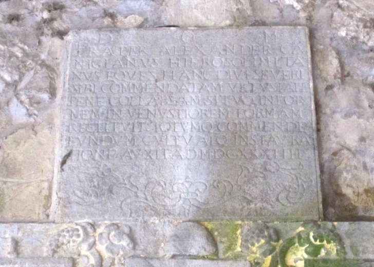 Wall Inscriptions, Calenzano, Italy 1