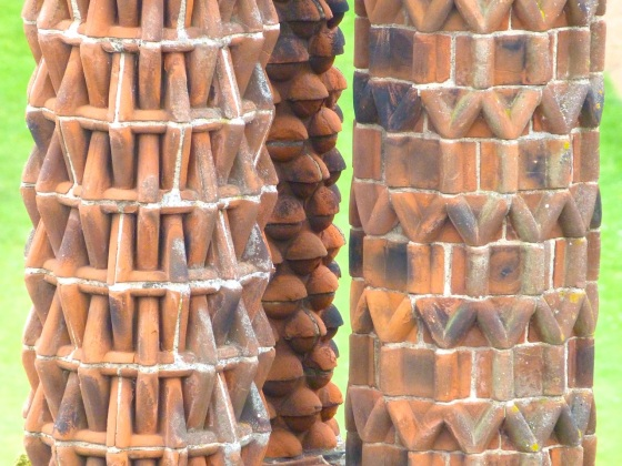 Terracotta Chimneys, Oxburgh Hall, Norfolk 12