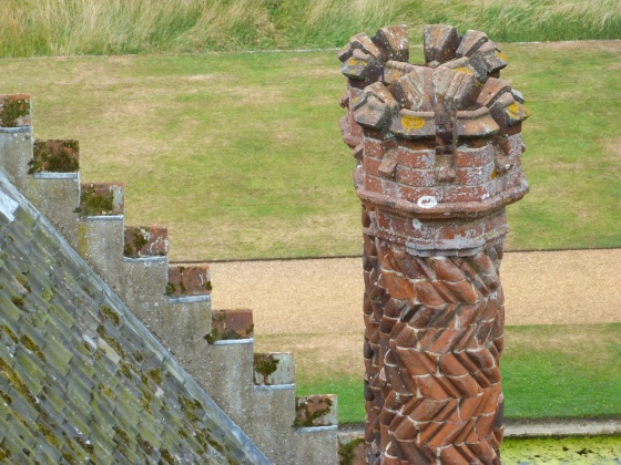 Terracotta Chimneys, Oxburgh Hall, Norfolk 2