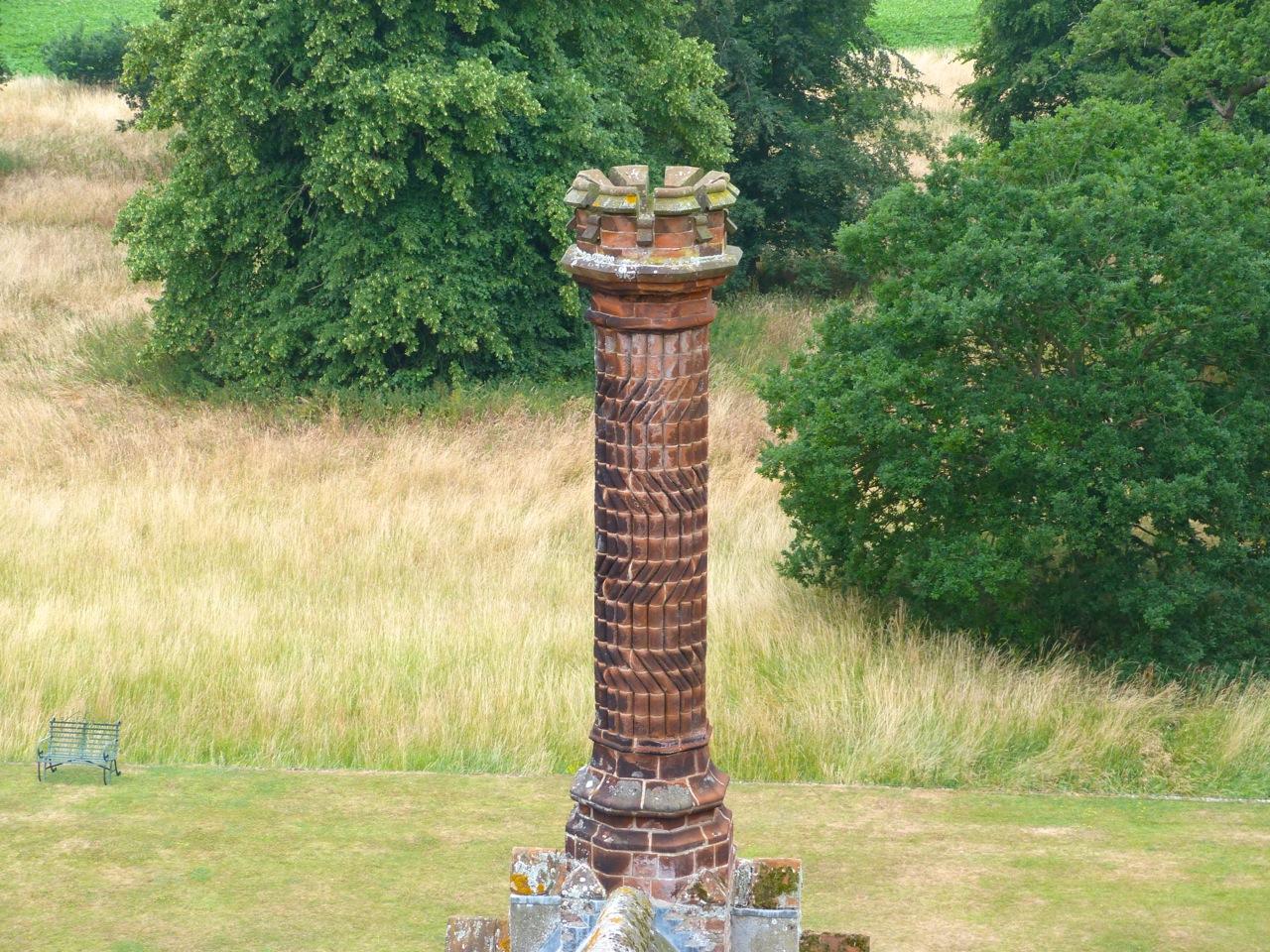 Terracotta Chimneys, Oxburgh Hall, Norfolk 3