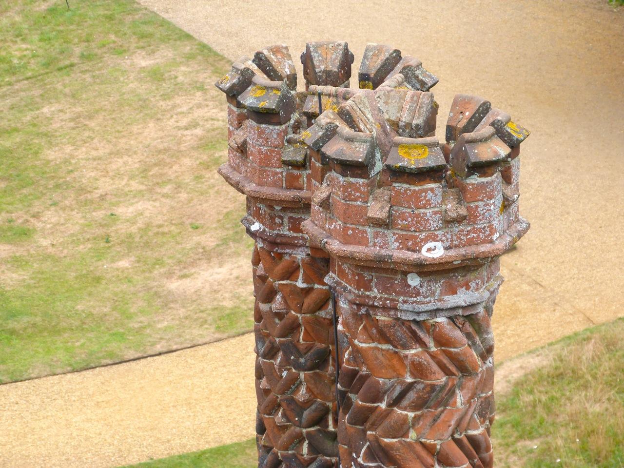 Terracotta Chimneys, Oxburgh Hall, Norfolk 5