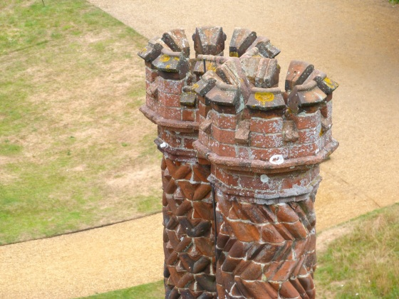 Terracotta Chimneys, Oxburgh Hall, Norfolk 5