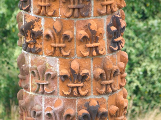 Terracotta Chimneys, Oxburgh Hall, Norfolk 6