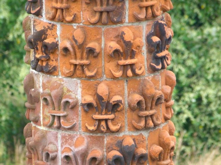 Terracotta Chimneys, Oxburgh Hall, Norfolk 6