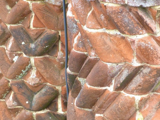 Terracotta Chimneys, Oxburgh Hall, Norfolk 8