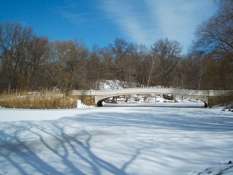 Central Park, New York - Bow Bridge & The Ramble