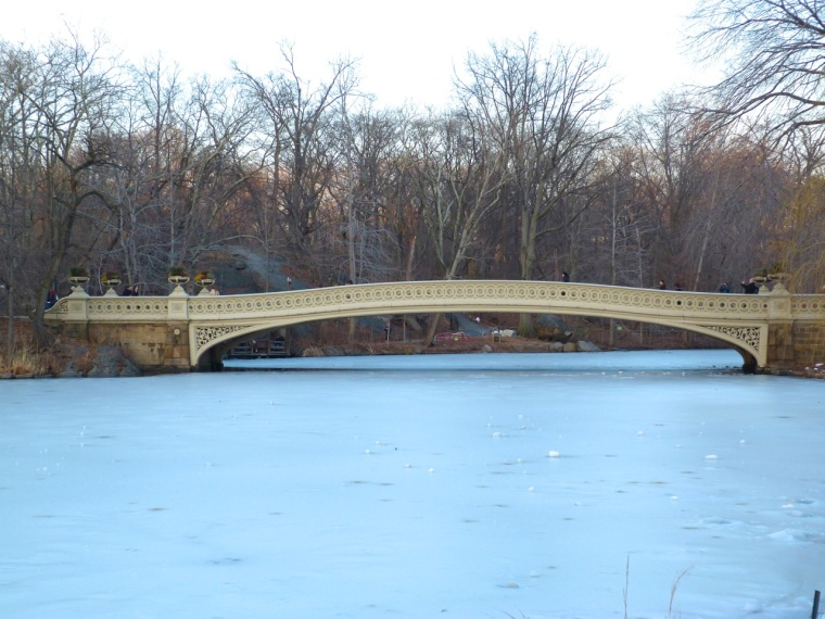 Central Park New York - Bow Bridge & the Ramble