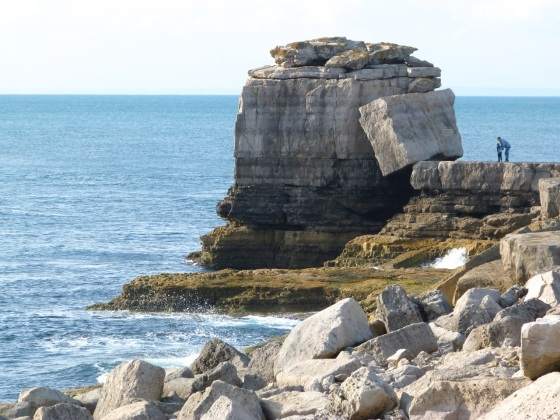 Portland Bill, Dorset - Pulpit Rock