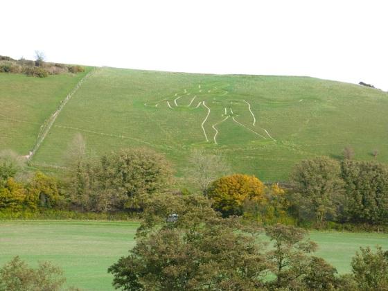 Cerne Abbas, Dorset - The Cerne Giant 2