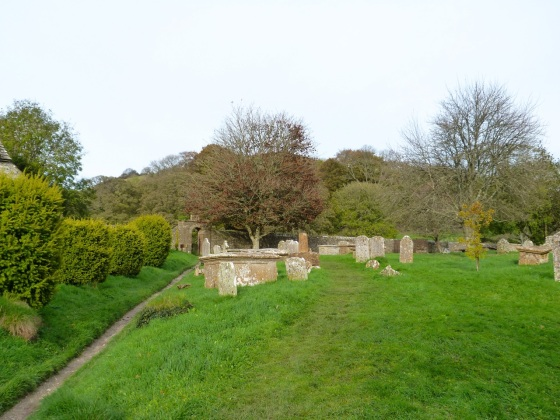 Cerne Abbas, Dorset - The Churchyard