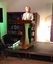 Mrs RH takes the lectern 2
