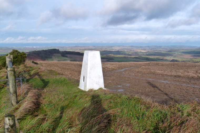 St Catherine's Hill Trig Point IoW 5