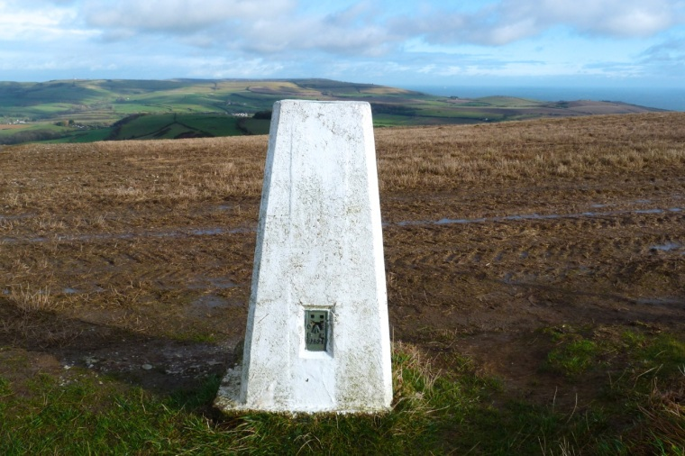 St Catherine's Hill Trig Point IoW 6