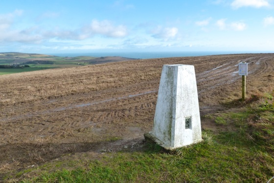 St Catherine's Hill Trig Point IoW 7