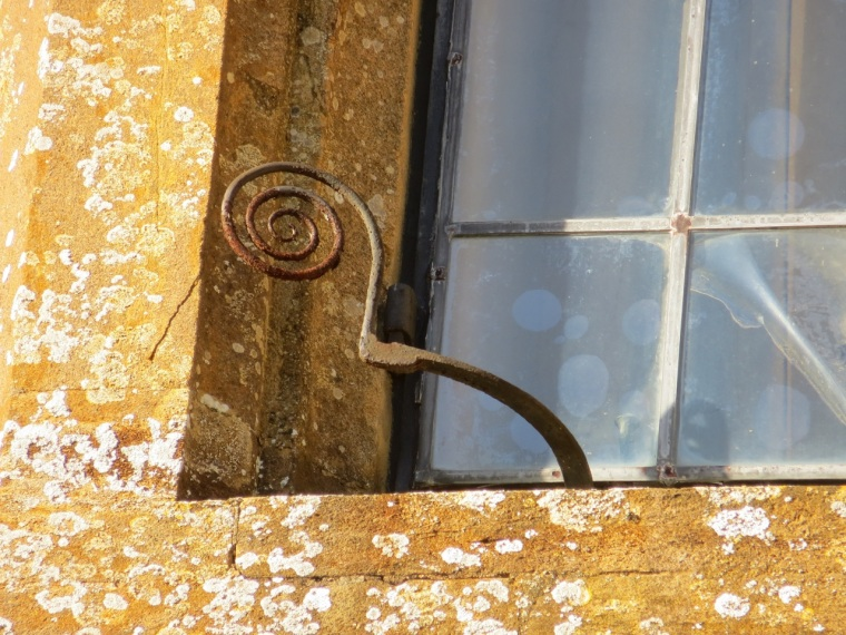 Montacute window detail 2