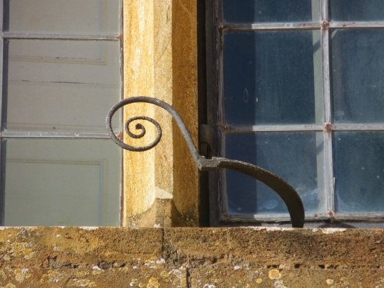 Montacute window detail 3