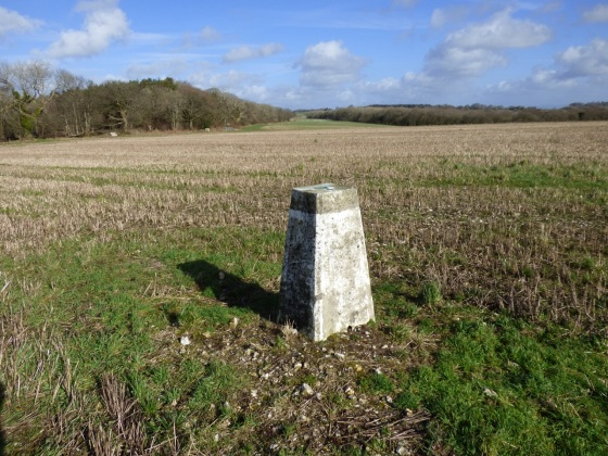 Batcombe Trig Point walk 3
