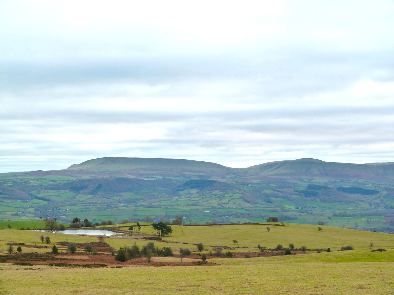 Black Mountains from The Begwyns
