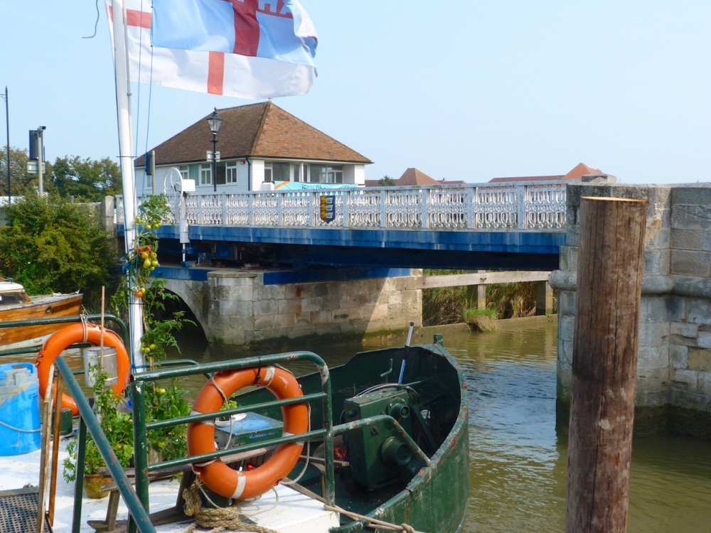 Sandwich - Swing Bridge over River Stour