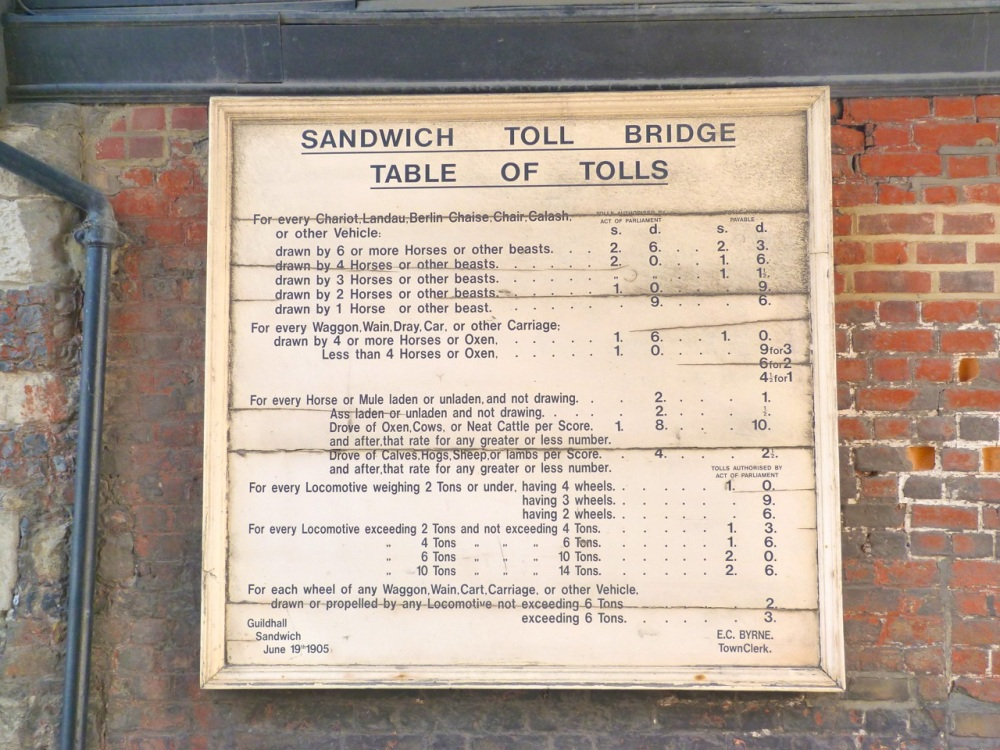 Sandwich - Toll table