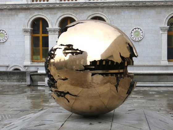 Pomodoro Sphere TCD 1