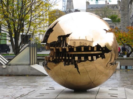 Pomodoro Sphere TCD 11