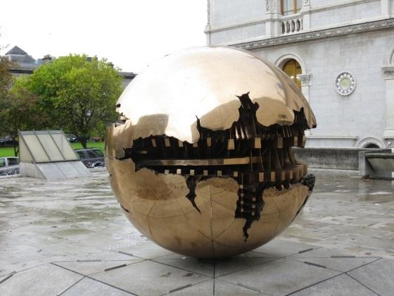 Pomodoro Sphere TCD 2