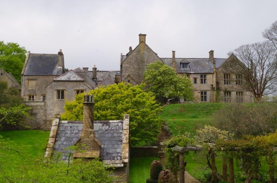 Mapperton House, Dorset - back view