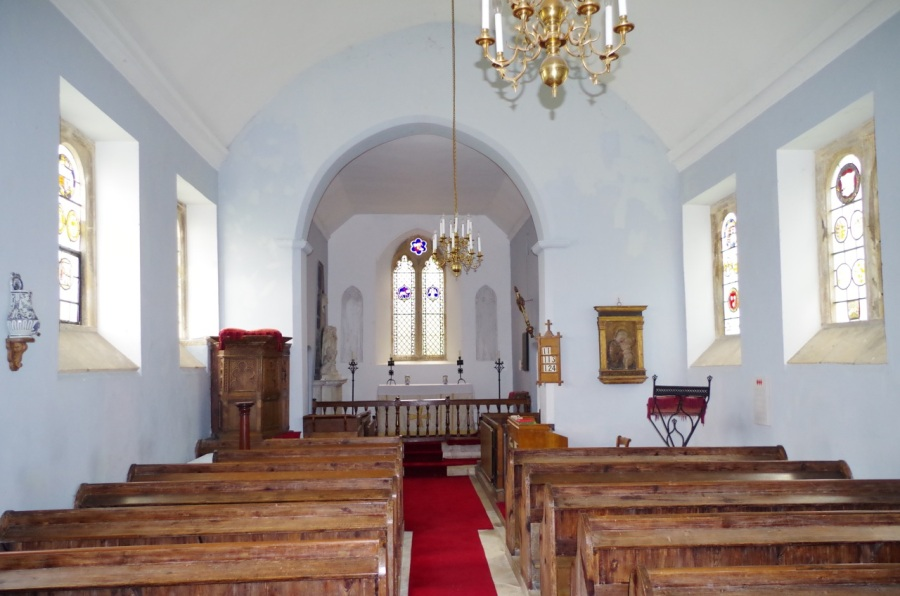 Mapperton House, Dorset - chapel 1