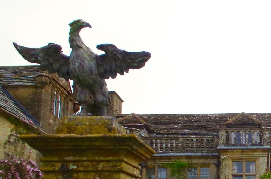 Mapperton House, Dorset - Gatepost