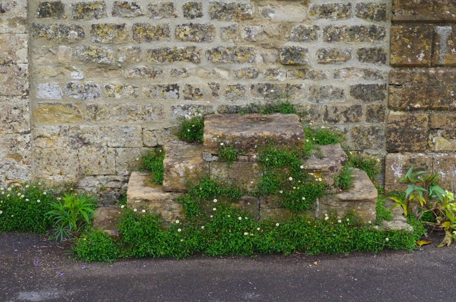 Mapperton House, Dorset - Mounting Block