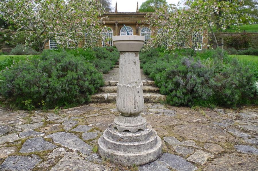 Mapperton House, Dorset - sundial