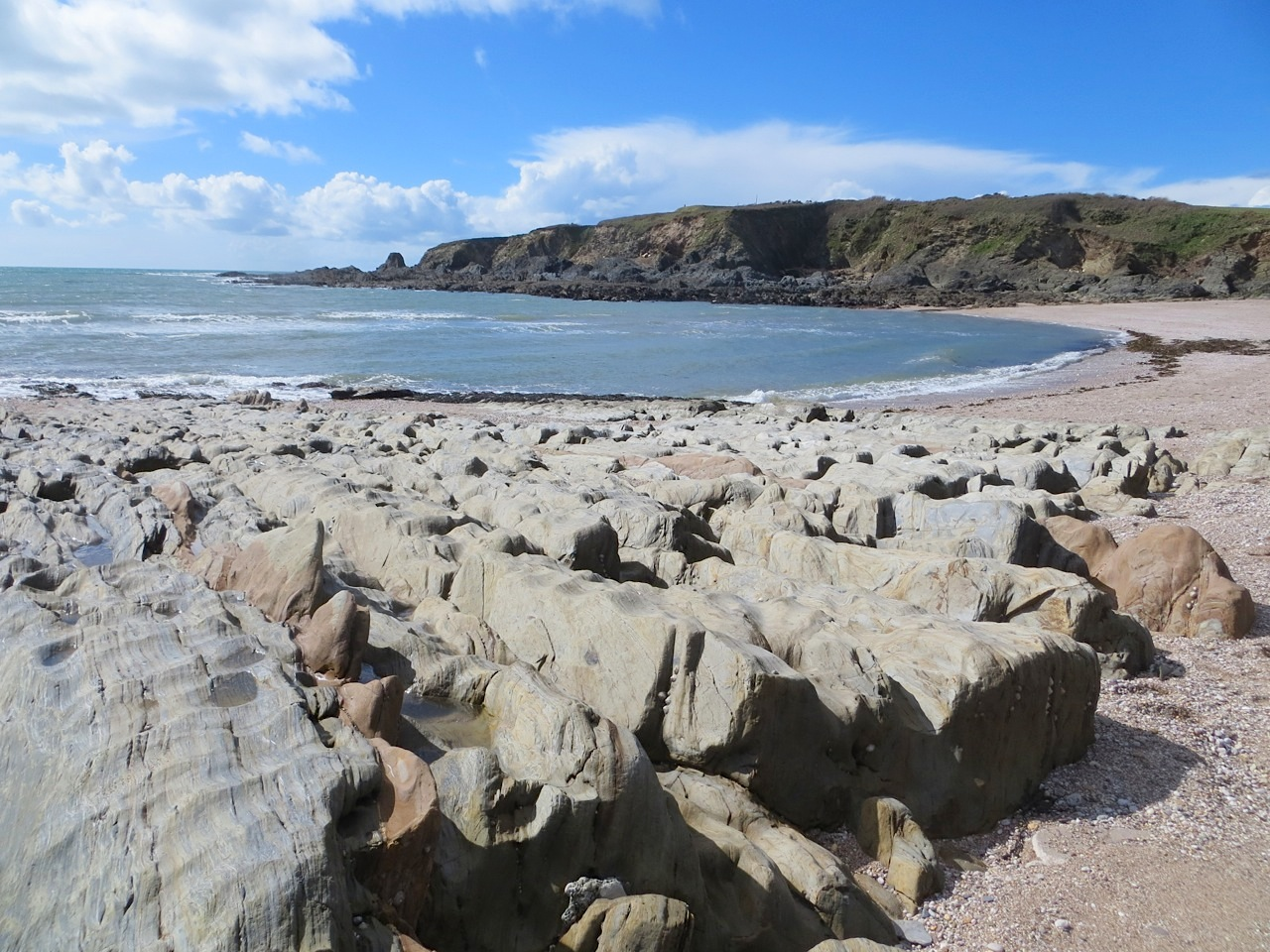 Thurlestone Rocks, Devon (L) 04