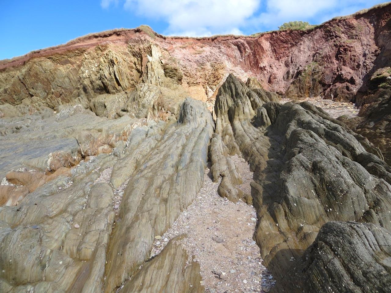 Thurlestone Rocks, Devon (L) 08