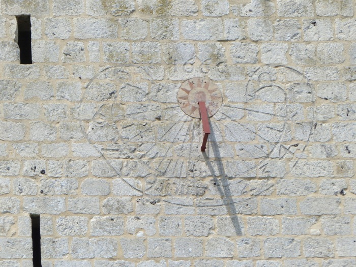 Mass (Scratch) Dial, Jumieges Abbey, France 5