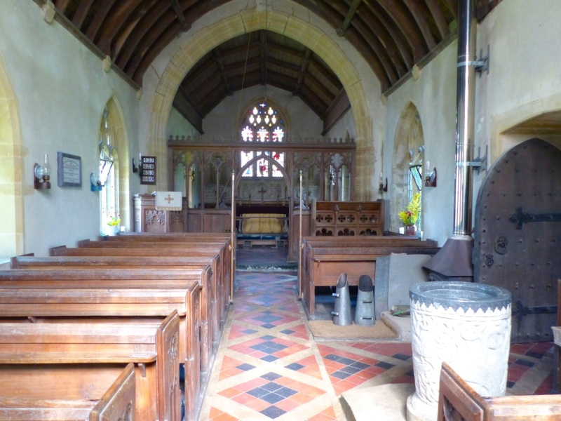 St Mary's Church Melbury Bubb Dorset 05