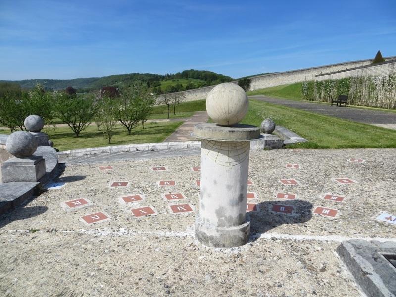 St Georges de Boscherville Sundial 1.1. 1