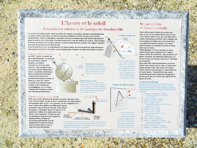 St Georges de Boscherville Sundial 1.1. 8
