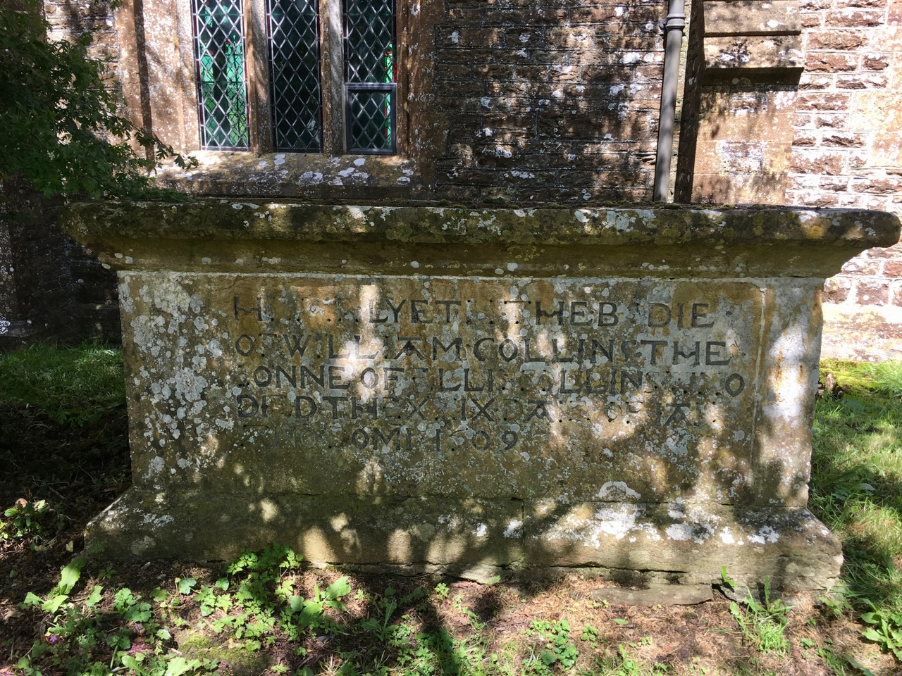 Tomb 1609. All Saints Church Closworth, Somerset