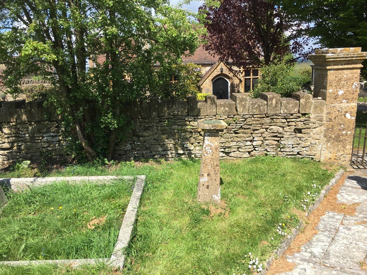 Sundial, All Saints Church Closworth, Somerset