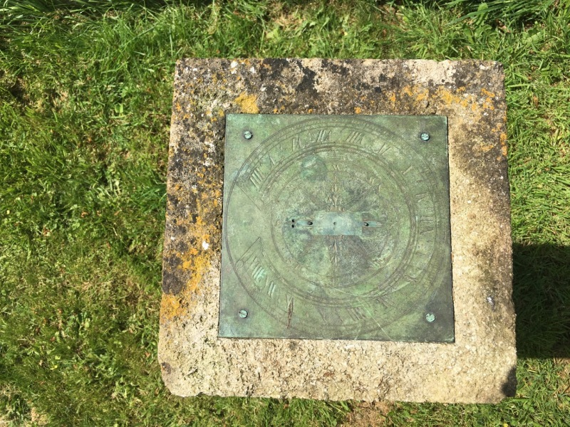 Sundial, All Saints Church Closworth, Somerset