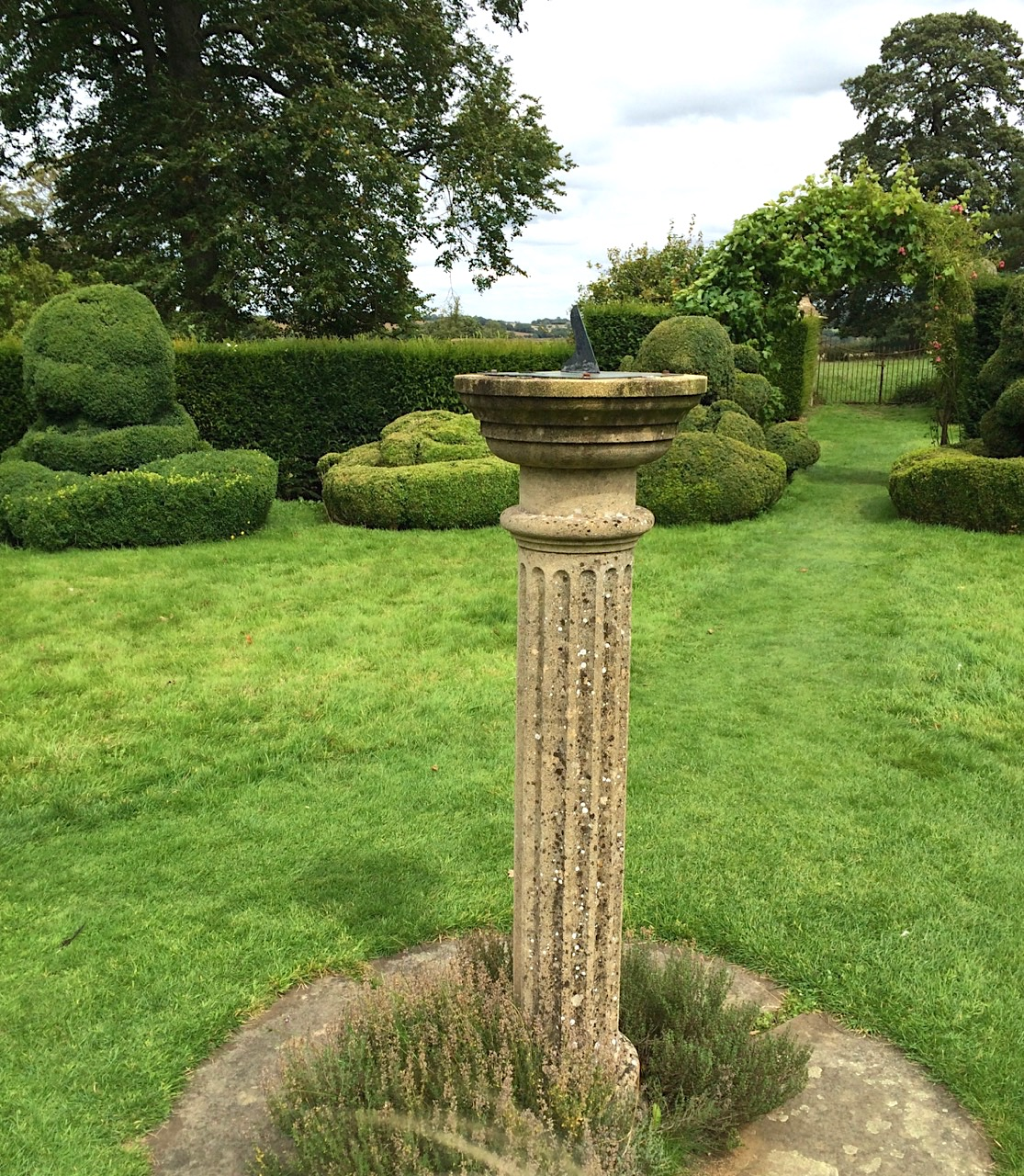 Chastleton House, Oxfordshire: the Sundial
