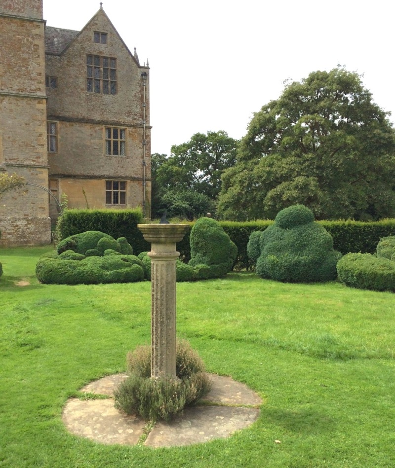 Chastleton House, Oxfordshire: the Sundial